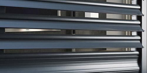 volet roulant lame orientable fenêtre protection soleil domotique contrevent vitre porte fermant chassis lyon