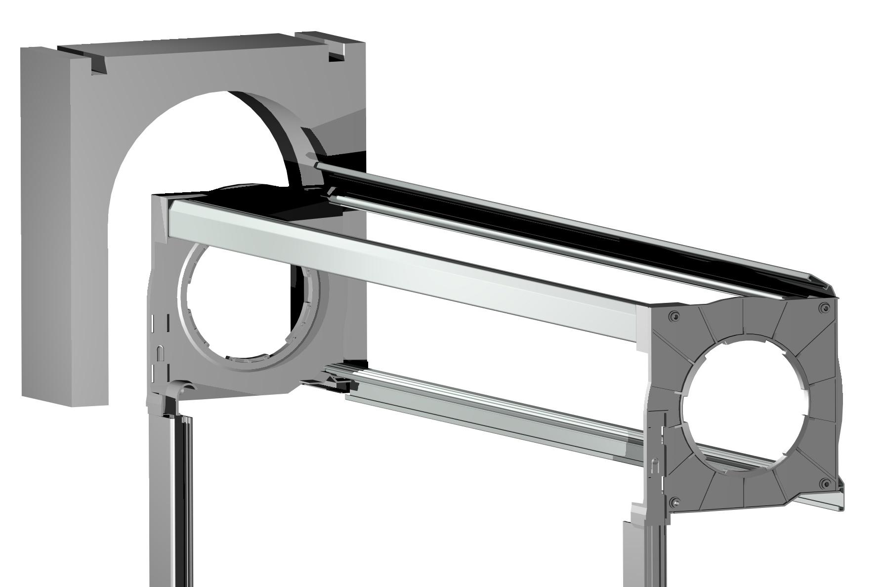 coffre bloc volet roulant lame orientable cadre mono bloc rénovation maison fenêtre lyon